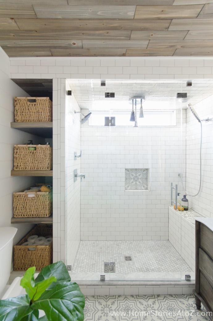 10. Shelves next to the shower by simphome.com