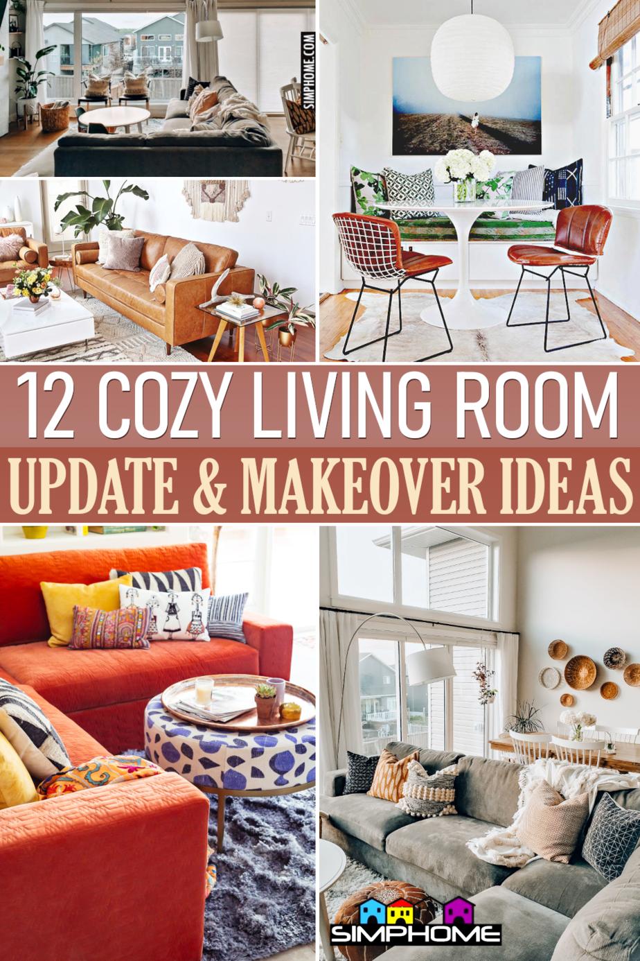 12 cOZY Living room Ideas via Simphome.comFeatured