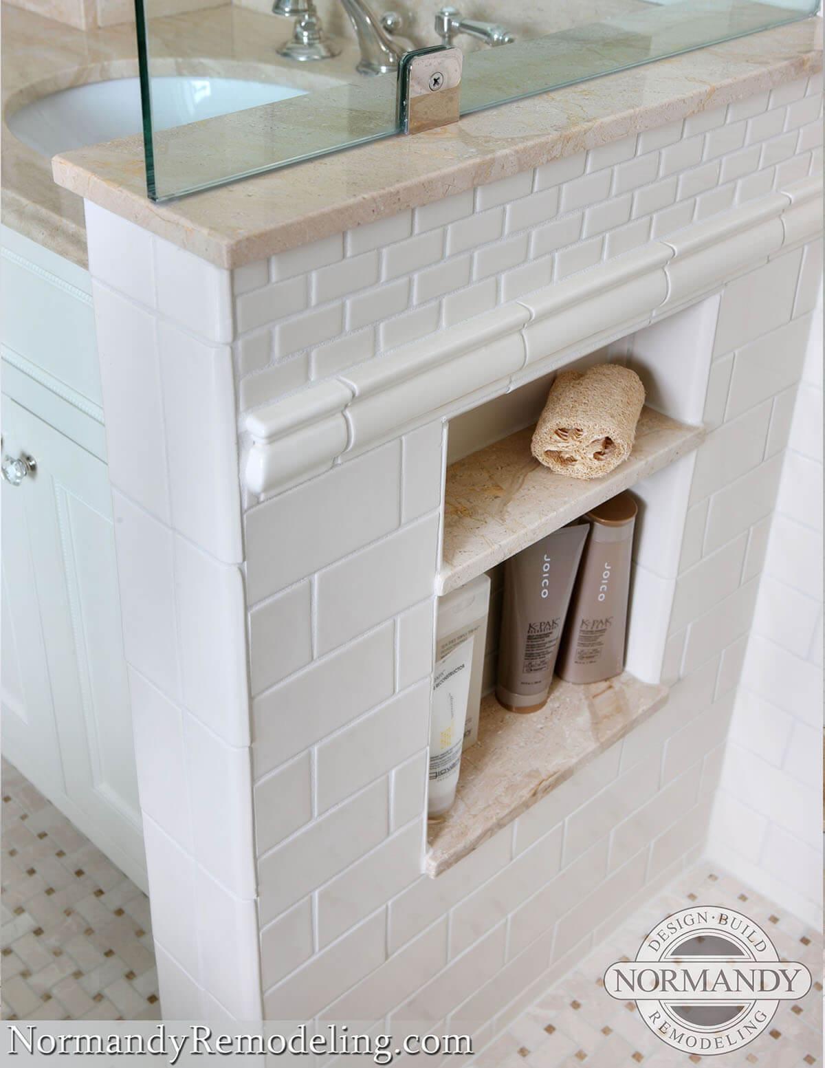 2. Storage for Small Bathroom by simphome.com