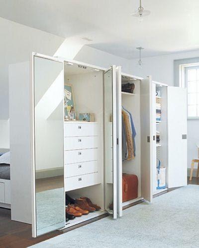 2.Room Divider Closet by simphome.com