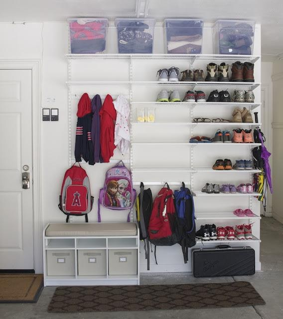 4. Effortless Garage Mudroom Combo by simphome.com
