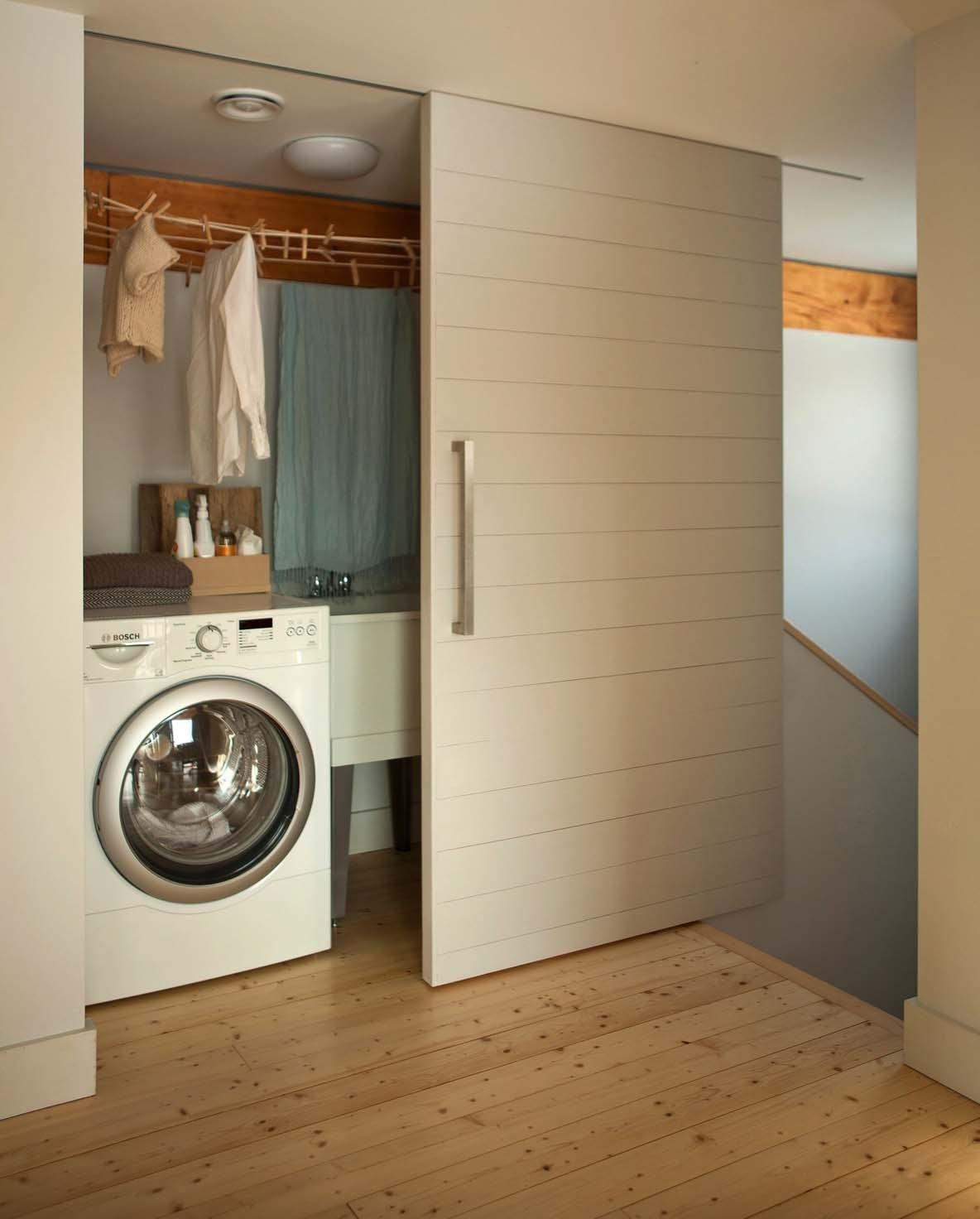 8. Conceal the Laundry Room by simphome.com