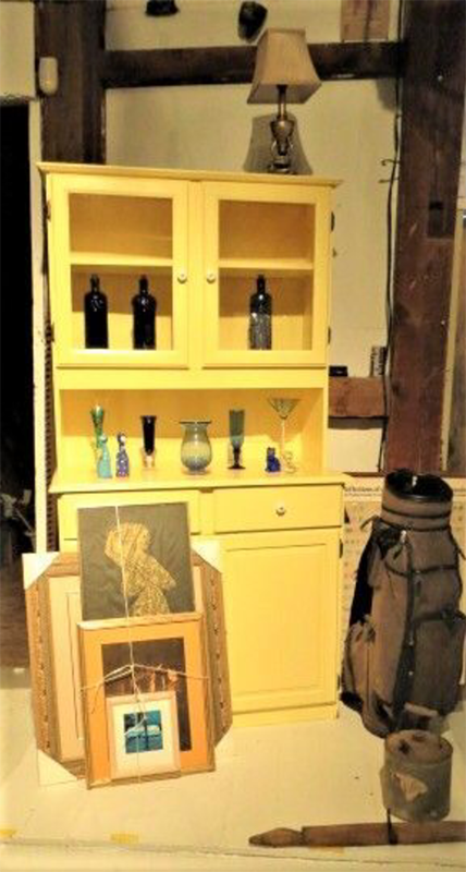 8. Farmhouse Kitchen Hutch Makeover by simphome.com