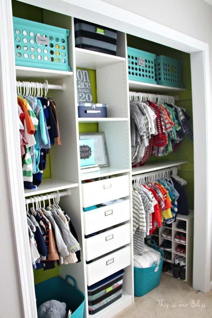 1. Nursery Closet Ideas by simphome.com