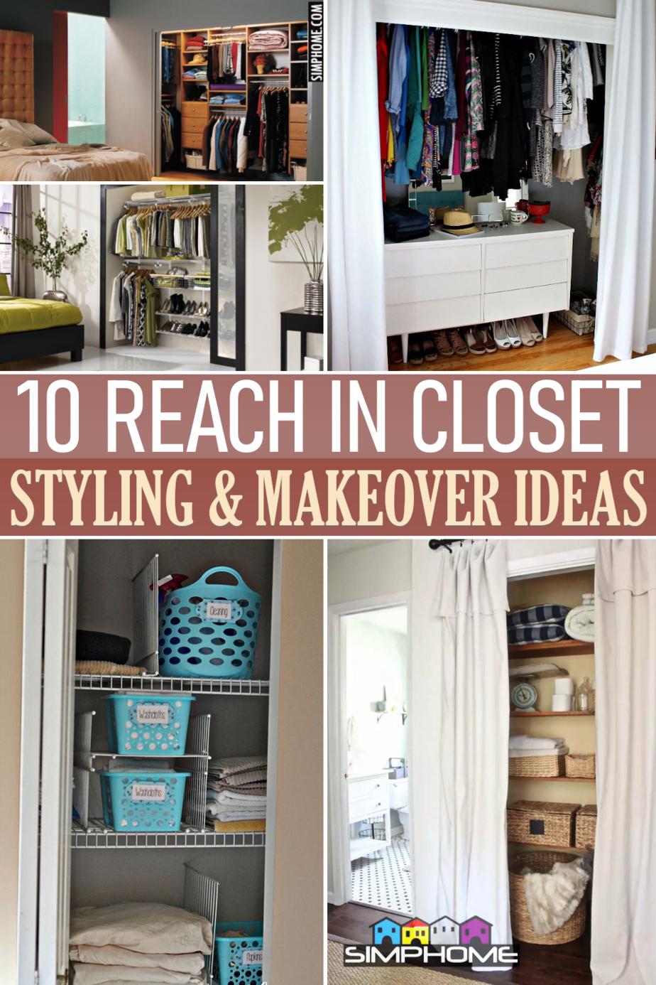 10 Reach in Closet Ideas via Simphome.comFeatured