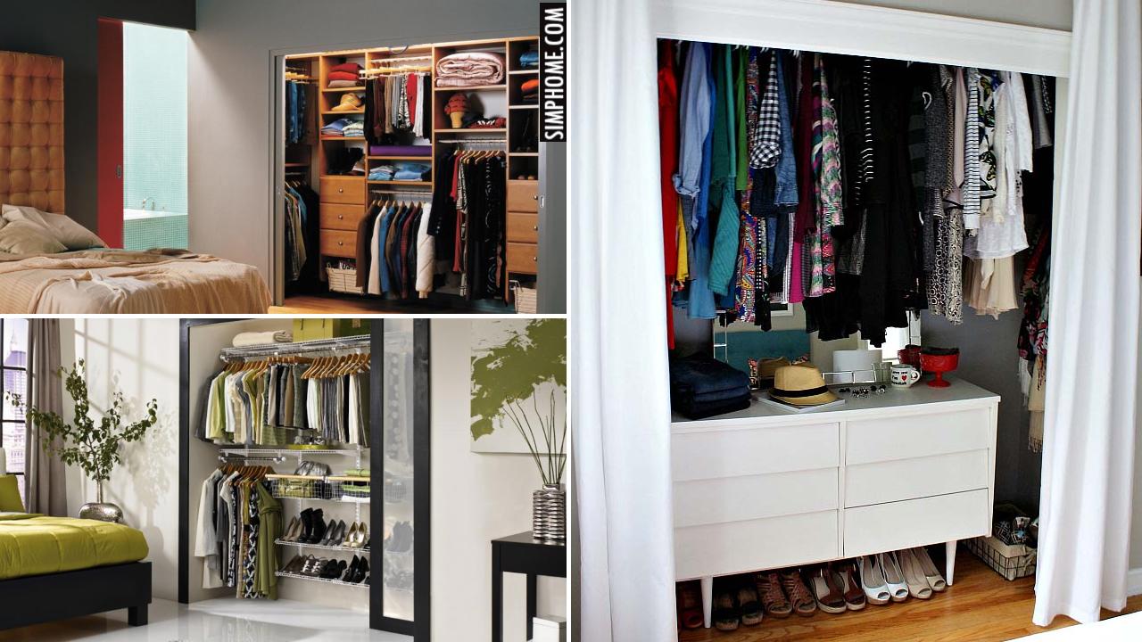 10 Reach in Closet Ideas via Simphome.comThumbnail