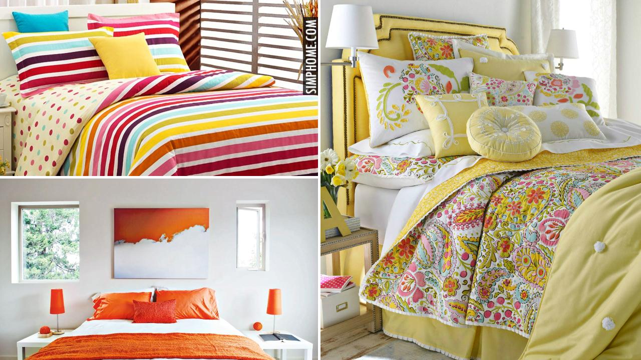 10 Small Bedroom Bedding and Blanket via Simphome.comThumbnail
