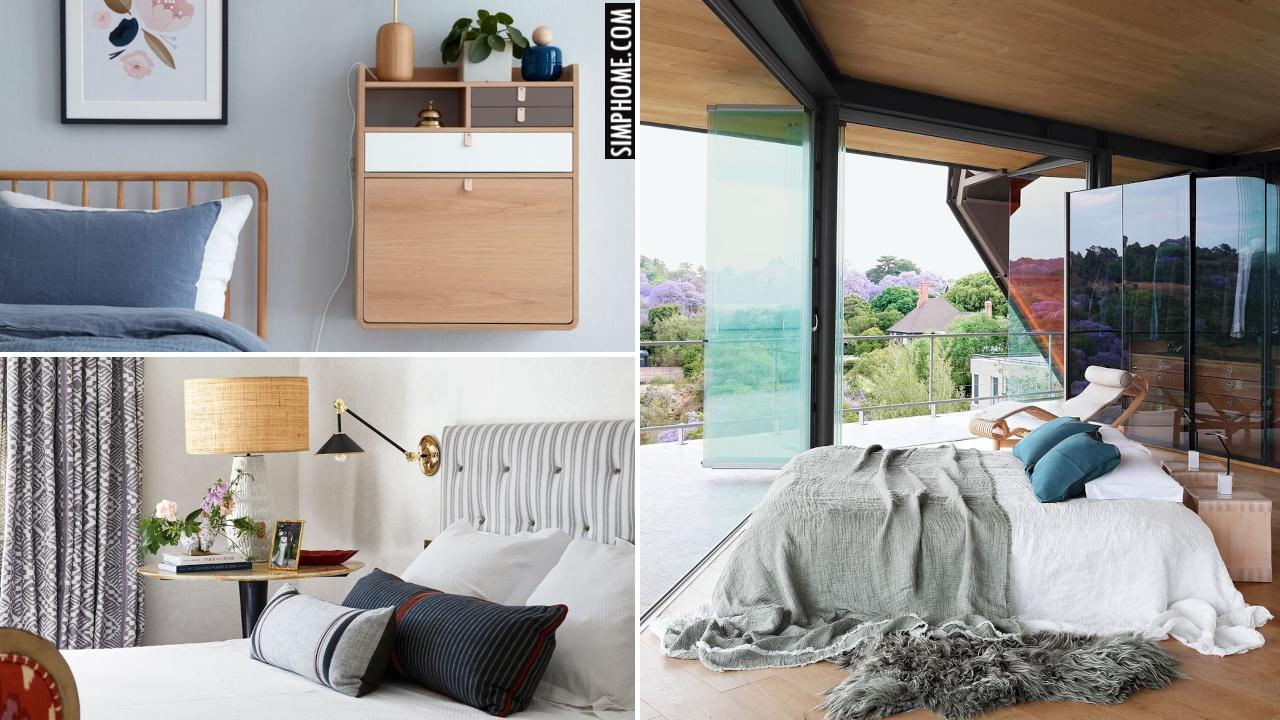 10 Small Bedroom Styling Ideas via Simphome.comYoutube thumbnail