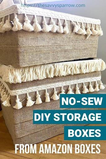 10. DIY Storage Boxes by simphome.com .