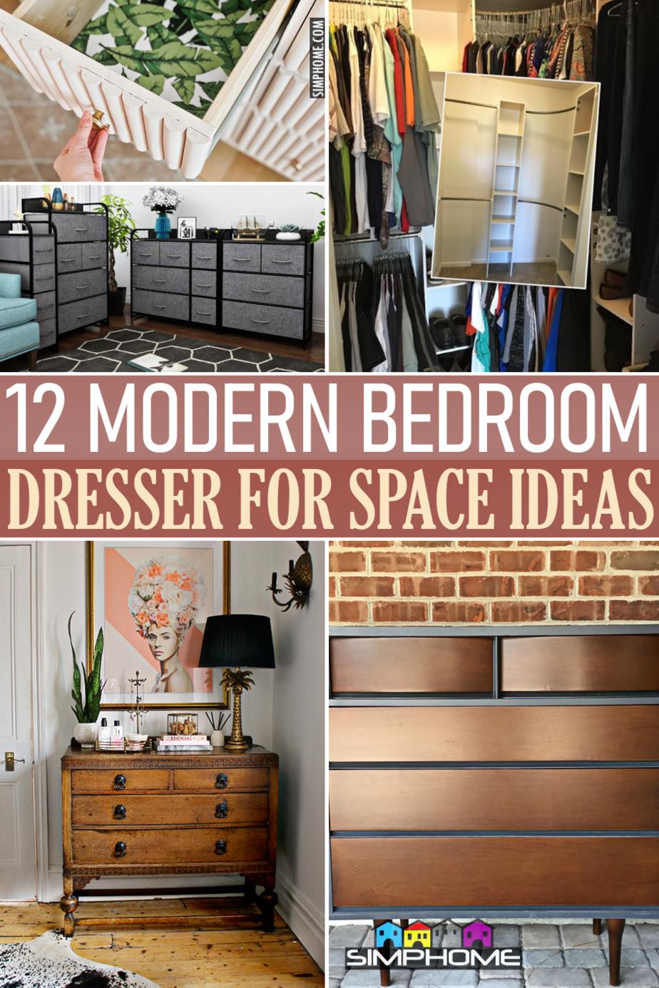 12 Modern Dresser Ideas via SIMPHOME.COMFeatured