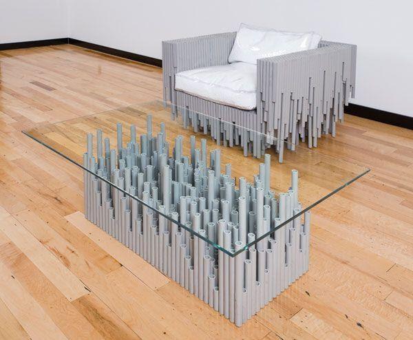 2. PVC Furniture by simphome.com