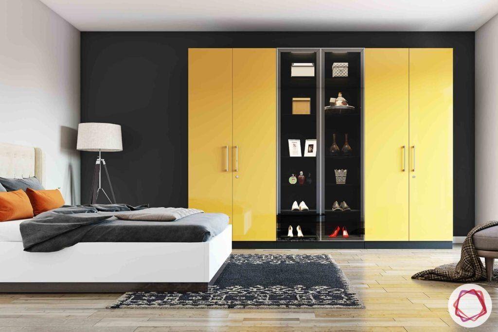 4. Wardrobe Display Shelves Combo by simphome.com