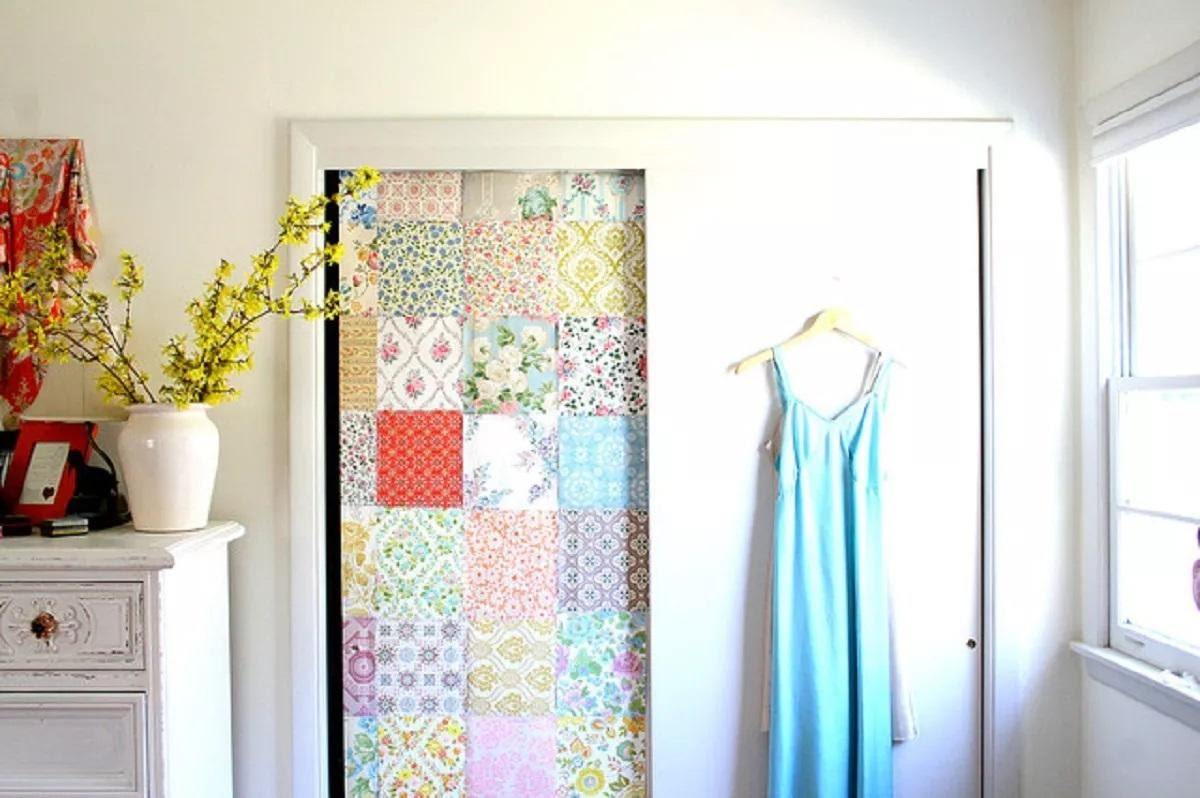 6. Try Decoupage Doors by simphome.com