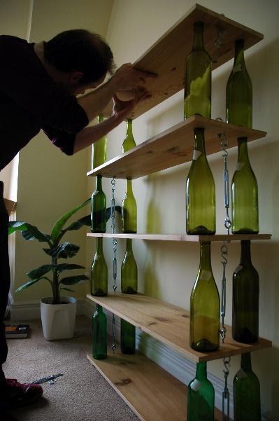 7. Eco Friendly Shelves by simphome.com