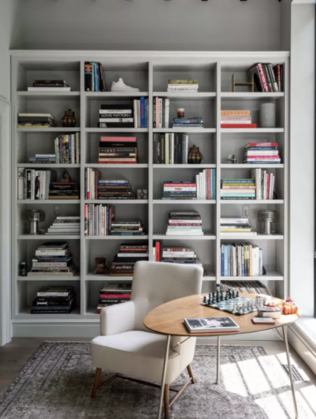 8. Personalize the Bookcase by simphome.com