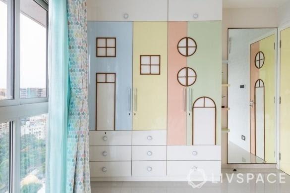 1. Modern Cupboard idea for Kids by simphome.com