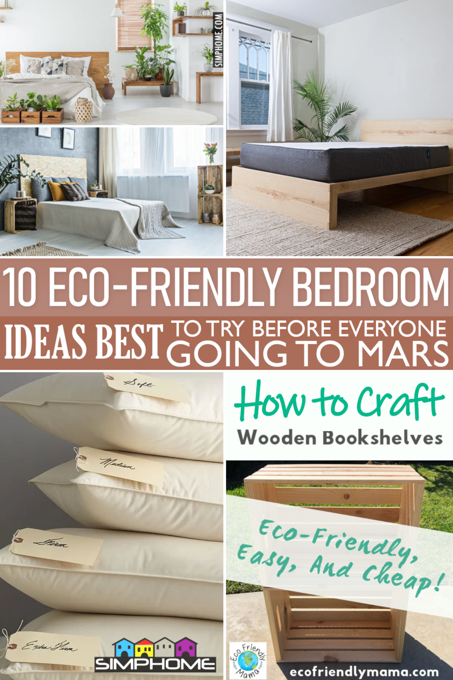 10 Ideas to Design Eco Friendly Bedroom VIA Simphome.comFeatured 1