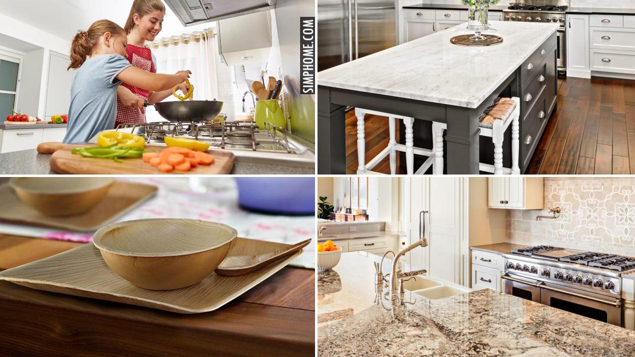 10 Ideas to Rebuild Eco Friendly Kitchen via Simphome.com