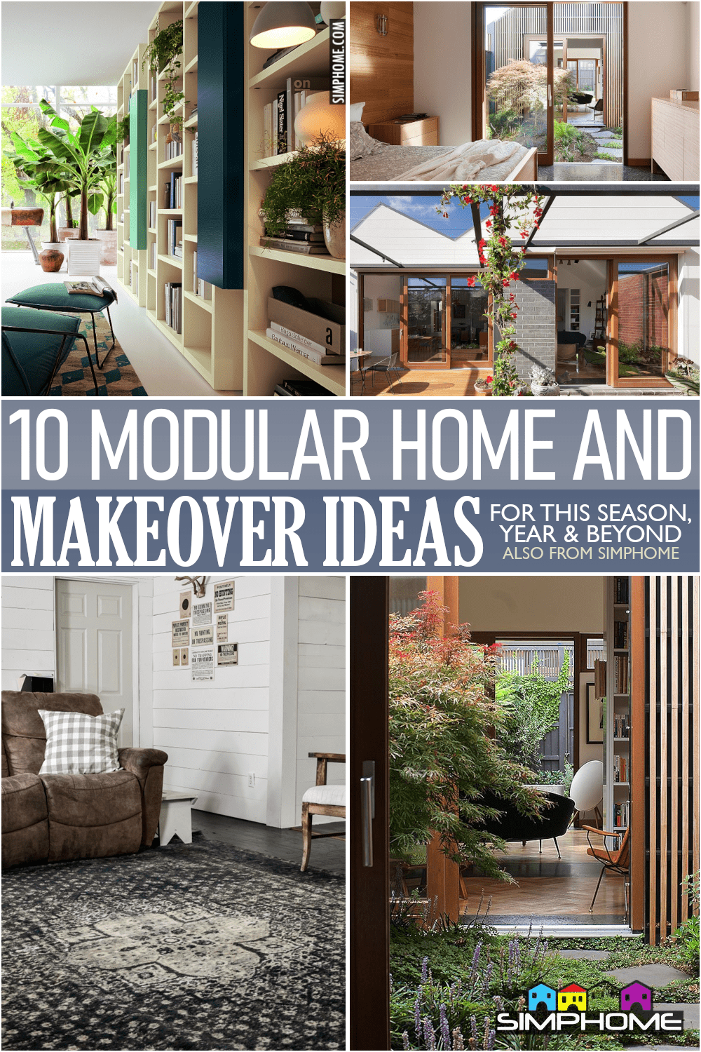 10 Modular Home Makeovers via Simphome.comFeatured