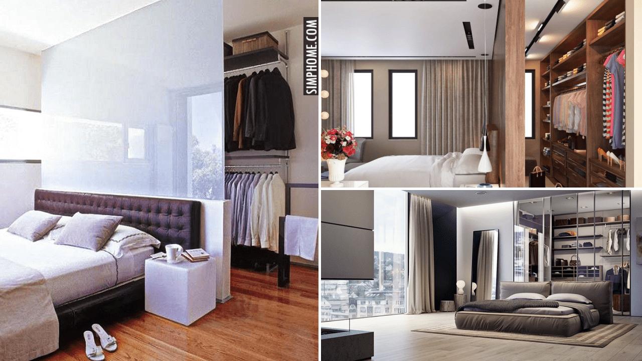 10 Wardrobe Behind Bed Ideas via Simphome.comYoutube thumbnail