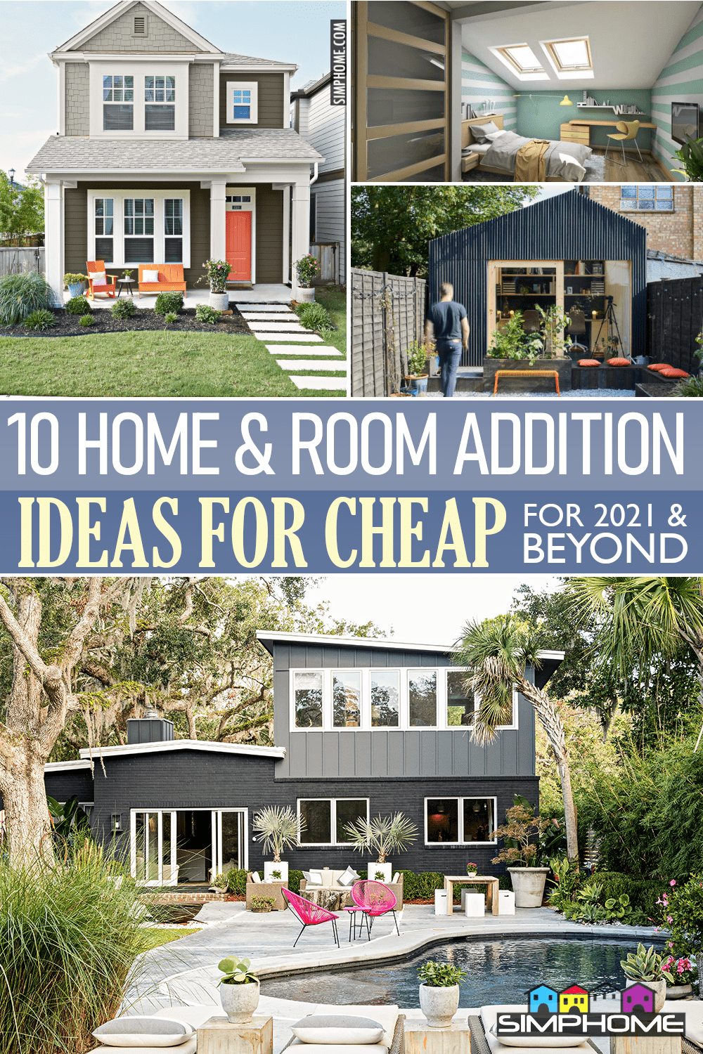 10 home and room addition ideas via Simphome.comFeatured