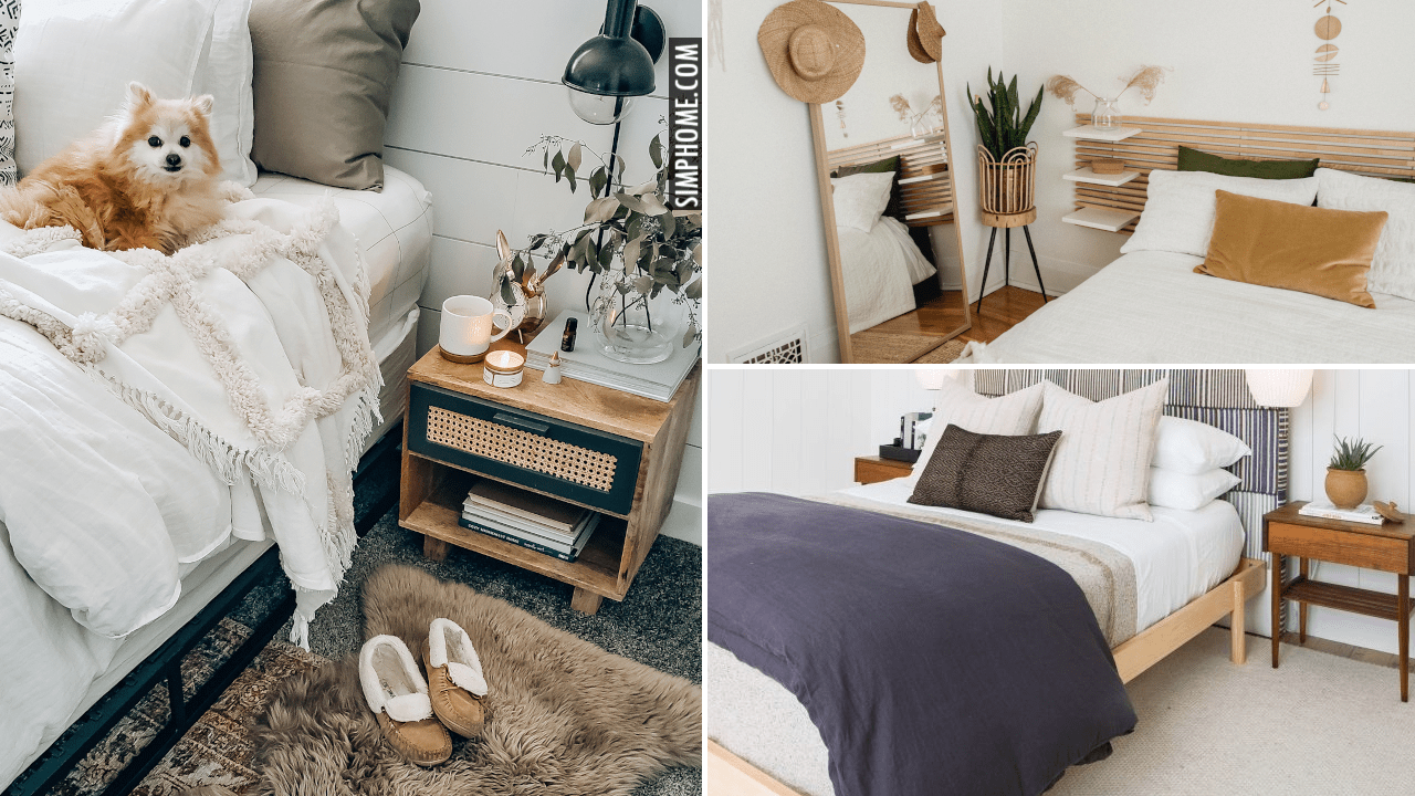 12 Improvement Ideas for a Neutral Bedroom via Simphome.comVd thumbnail