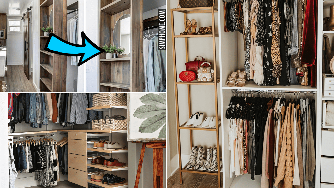 12 Master Closet Organization Ideas via Simphome.comYoutube thumbnail