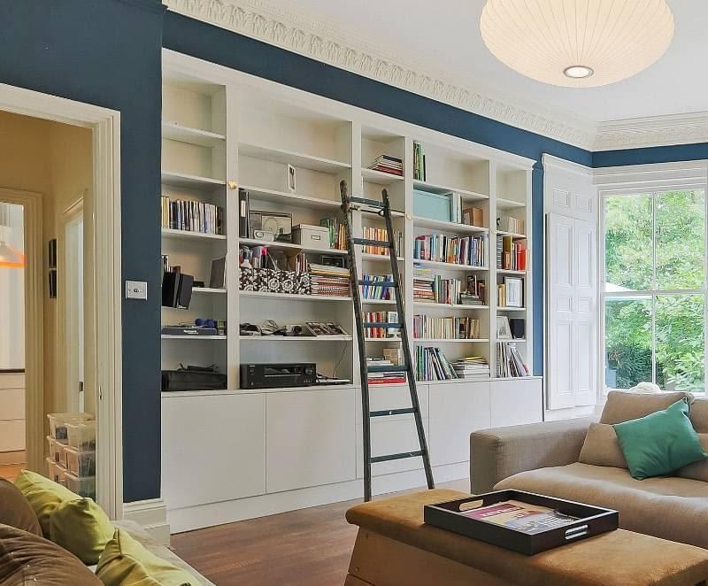 2. Book Shelves by simphome.com