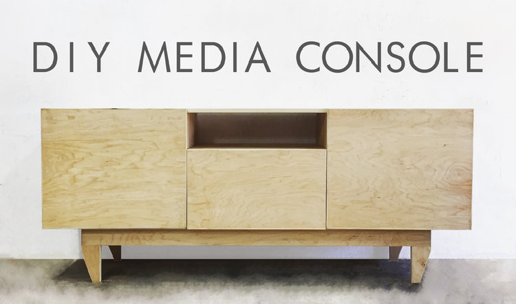 2. Mid Century Modern Media Console by simphome.com