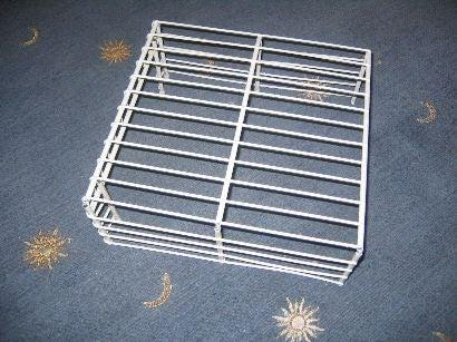 3. Monitor Stand from Wire Shelving by simphome.com