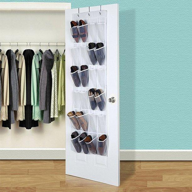 4. And get your closet Door a new shoe hanger bag by simphome.com