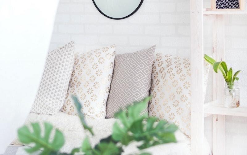 6. Eco Friendly Pillows by simphome.com