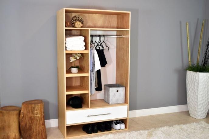 7. DIY Open Closet by simphome.com