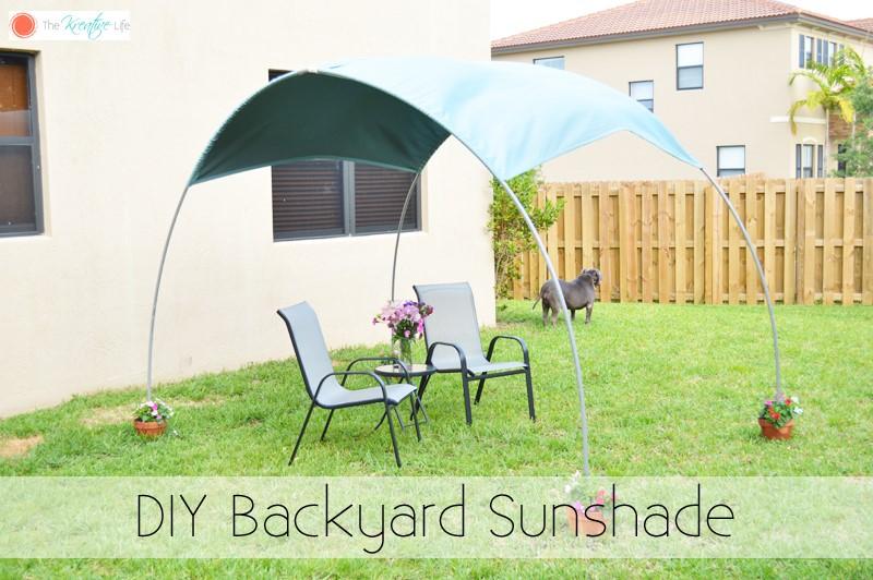 7. PVC Sunshade via Simphome.com