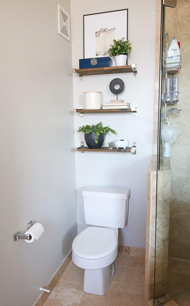 1. Over the Toilet Shelves by simphome.com