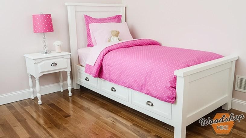 1. Platform Bed for Kids by simphome.com