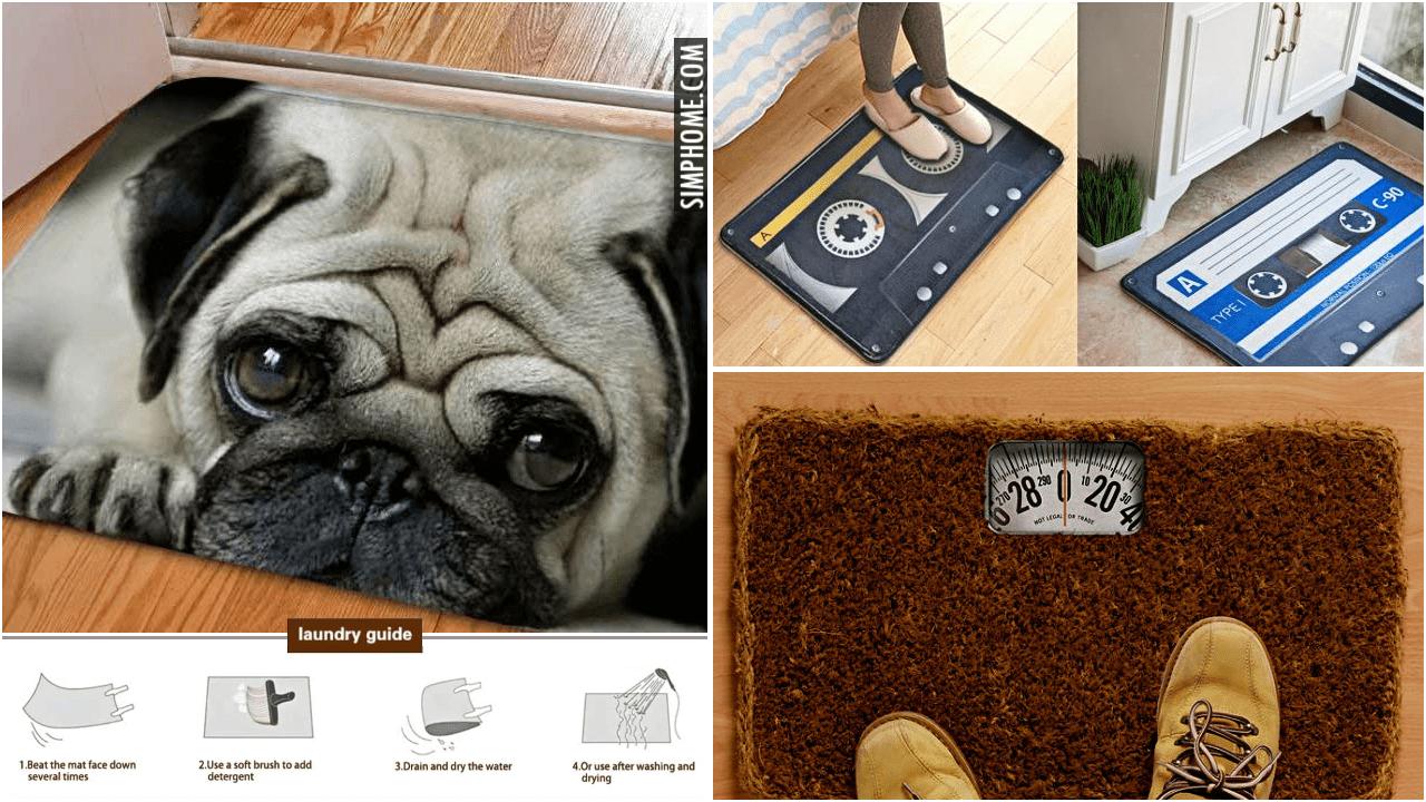 10 Doormat Ideas Unique Clever and Funny via Simphome.comYoutube thumbnail