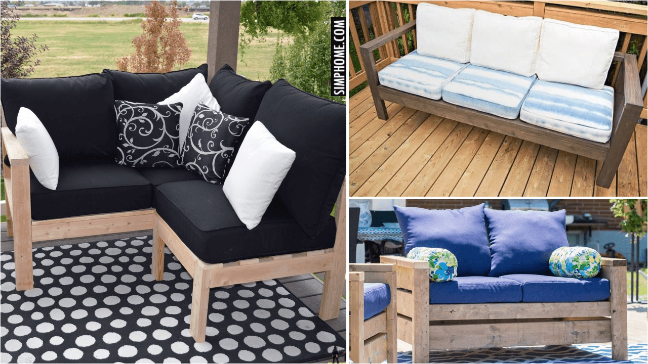 10 Loveseat DIY Projects via Simphome.comYoutube thumbnail
