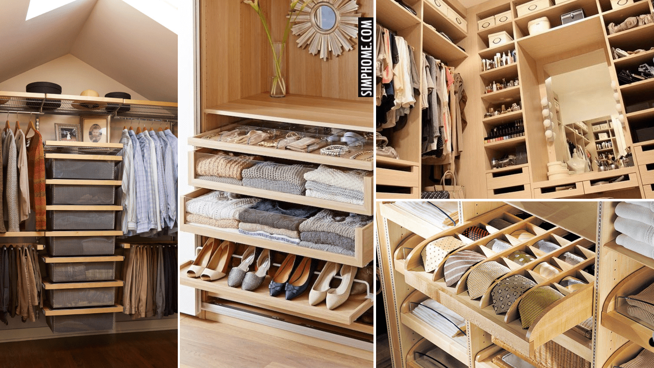 10 Narrow Closet Design and Storage Ideas with Walk in via Simphome.comThumbnail