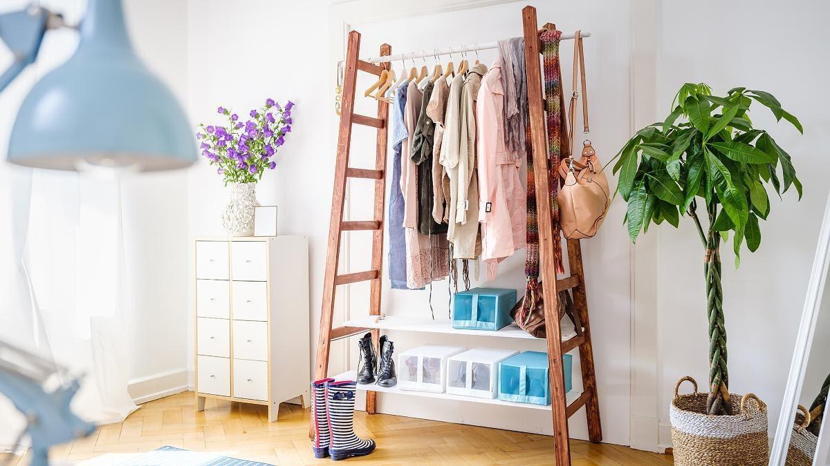 10. Ladder Wardrobe by simphome.com