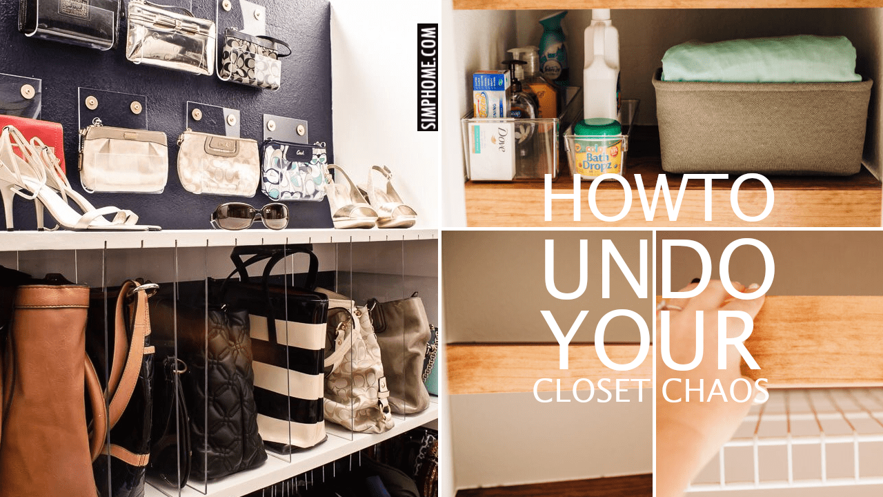 12 Ideas how to Close your closet Chaos via Simphome.comYoutube thumbnail