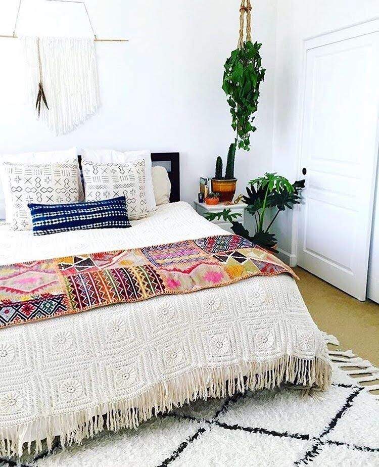 2. Boho Chic Bed by simphome.com