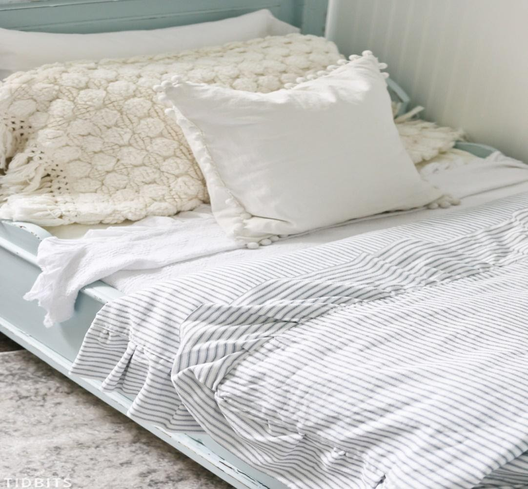 2. How to Sew Ruffle Duvet by simphome.com