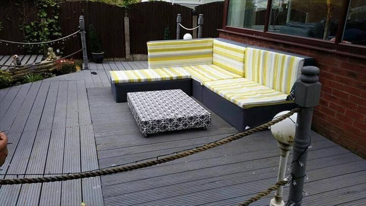 2. Pallet Sectional Sofa by simphome.com