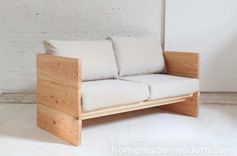 2. Unique DIY Sofa by simphome.com
