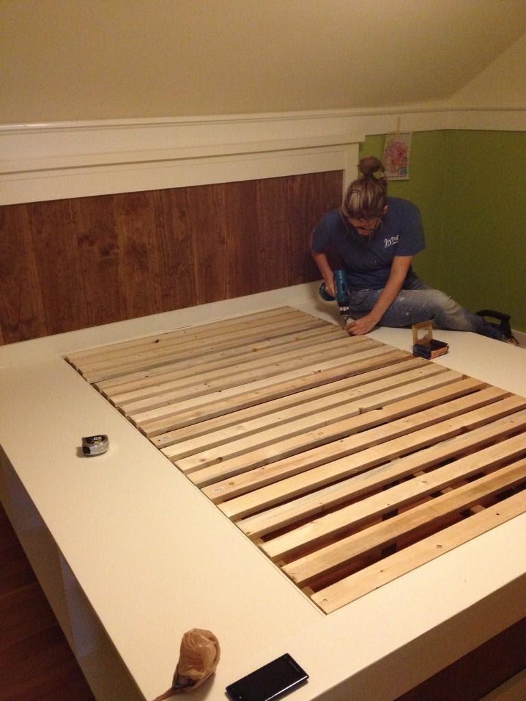 3. Modern Farmhouse Platform Bed by simphome.com
