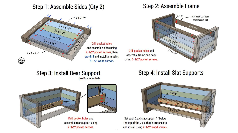 3. The Outdoor Wooden Sofa Idea Plan via Simphome.com .png