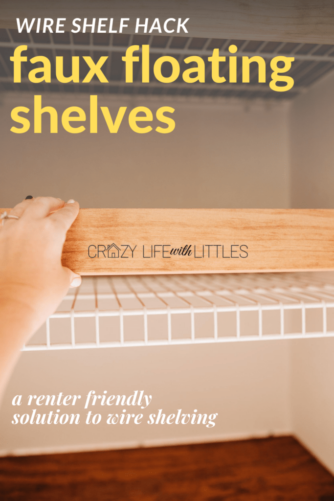 3. Upgrade your cheap looking wire linen shelving by simphome.com