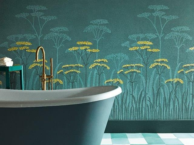 3. your ultimate guide to bathroom wallpaper by simphome.com