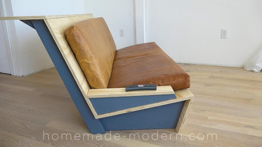 7. Two Levels Wooden Couch by simphome.com
